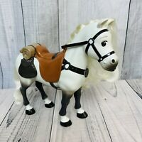 """RARE 12"""" Tall Maximus Max Horse Toy Figure Disney Rapunzel Tangled Unbranded"""