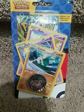 1 Pokemon  Blister Pack w/ Collectible Coin New and 3 Promo Cards.
