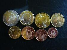 ESPAÑA 2000 SERIE 8 MONEDAS EURO