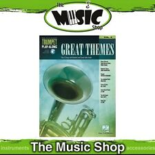 New Great Themes Trumpet Play Along Music Book & OLA - Volume 4