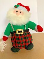 Vintage Christmas Santa Claus Motionette Animated Musical Santa Coming to Town