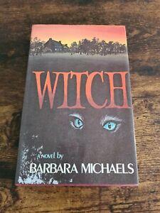 Witch - Barbara Michaels - 1st Uk Edition 1st Print - 1975 - Hardback