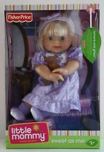 FISHER PRICE LITTLE MOMMY SWEET AS ME