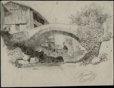 Dessins et lavis du XIXe siècle et avant signés pour Impressionnisme