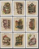 1936 Wills's Cigarettes Old Inns Large Tobacco Cards Complete Set of 40