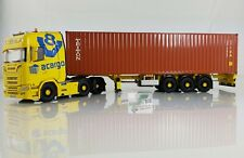 Herpa 071581 SCANIA CS 20 HD 6x2 Container-sattelzug