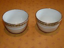 Lot 2 petits bols anciens en porcelaine épaisse La Tasse Pratique modèle Londres