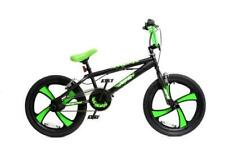 "XN-5-20 BMX Bike Mens Boys Freestyle BMX 20"" MAG Wheel Gyro Black Green Adult"