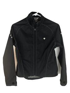 Pearl Izumi Jacket Cycling Full Zip Black Women's Size Small RN#80327