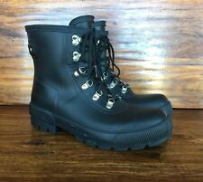 "Men's Hunter ""Cruise"" Lace Up Rubber Boots UK 10 US 11"