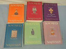 Sacred Writings, Judaism, Christianity, Islam, Confucianism, Hinduism, & Buddhis