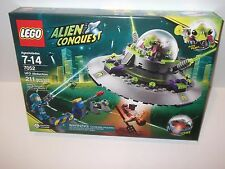 Lego Alien Conquest #7052 ALIEN ABDUCTION New NIB Factory Sealed 100% 211 pieces