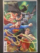 Justice League #51 Variant Dc Vf/Nm Comics Book