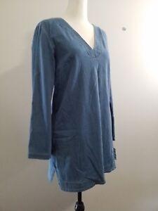 Size 12 - NWT - INC International Concepts Denim Tunic Dress, Blue