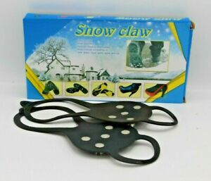 Snow Grip Claw Shoe Grip Climbing/Sports/ Sand, Wet Grass, Mud Ice Use Black