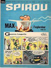 ▬► Spirou Hebdo - n°1416 du 3 Juin 1965 - SANS mini-récit TBE
