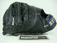 "New ZETT Gran Status 13"" First 1st Base Baseball / Softball Glove Black LHT GIFT"