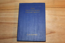 The Drycleaning Department C B Randall Revised Edition NICD 1940