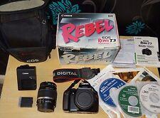 Canon EOS 1100D 12.2MP Digital SLR Camera - 18-55mm image stabilizer lens