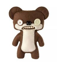 Fuggler Spin Master Brown Teddy Bear Nightmare 9� Deluxe Funny Ugly Monster