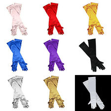 New Ladies Long Finger Gloves 20/30S Elegant Fancy Party Dress Evening Wedding