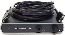 Avid HD Native Thunderbolt Interface for Pro Tools
