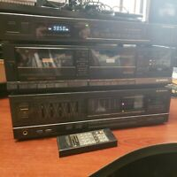 Pioneer Model SA-1270 Stereo Amplifier, TX-970 Tuner, Tape Deck CT-1170 TESTED