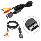 1.7M AV Audio Video Cable Cord for Sony PlayStation PS3 PS2 Console System New