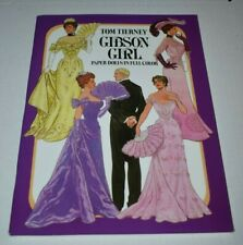 2016 Gibson Girl Paper Dolls Book - Tom Tierney Dover New Uncut
