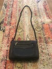 Rebecca Minkoff Avery Crossbody Black Purse Handbag MSRP $195