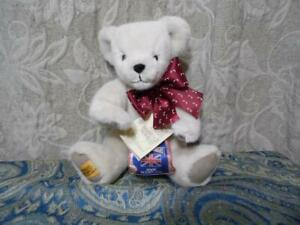 Merrythought White Ironbridge Bear NWT