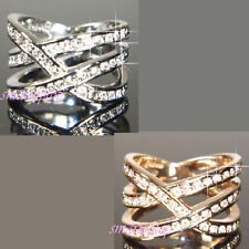Swarovski White Gold Plated Costume Rings