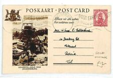 SOUTH AFRICA Nelspruit Postcard GOLD MINING 1943 {samwells-covers} CW213