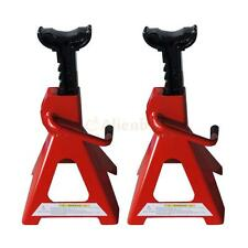 Adjustable 1 Pair of 2-Ton Jack Stands Car Lift Red