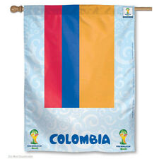 World Soccer Colombia National Team FIFA World Cup House Flag