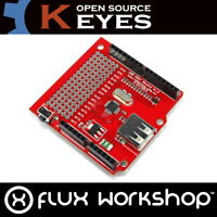 Keyes Dreh Encoder Modul KY-007 040 Drehung 6mm Arduino Radio Flux Workshop