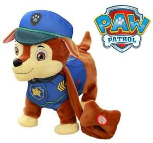 Paw Patrol Chase Walking Singing Barking Electronic Plush Soft Toy Figure 024
