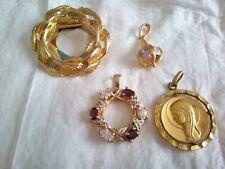 Lot De Médaillon Religieux Et Autres bijoux anciens