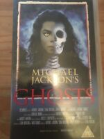 MICHAEL JACKSON GHOSTS VHS VIDEO MUSIC VIDEO