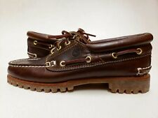 Timberland WOMEN'S HERITAGE NOREEN 3-EYE HANDSEWN SHOES Sample Size 7 Classic