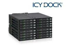 "Icy Dock MB516SP-B MB516SP-B disk array Black 16x 2.5"" SAS/SATA SSD/HDD - 4x"