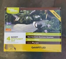 4 Piece Pack Better Homes and Gardens Bronze QuickFIT LED Spotlight, New In Box!
