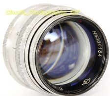 Jupiter-3 5cm 1:1.5 LEICA Screw fit PRIME Lens Made in USSR in 1963 for IIIg 3F