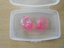 Doc's Plugs - Ear plugs - earplug - Size: S. pink colour. NEW.