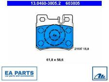 BRAKE PAD SET, DISC BRAKE FOR MERCEDES-BENZ ATE 13.0460-3805.2
