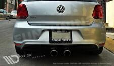 VW POLO 6R HECKSCHÜRZE + Endrohre 5 V GTI HECKANSATZ 6 R R32 WRC Sportauspuff