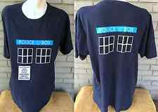 Dr. Who Police Box Dalek Telephone Public Call Pull To Open XL T-Shirt