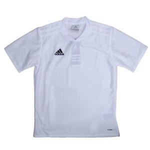 Adidas Boys White Soccer Jersey Adidas Tabela 11 Youth Soccer Apparel NEW