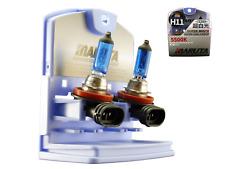 MARUTA MTEC H11 55W Halogen Glühlampen Set / SUPER WHITE MT-484 Xenon Look 5500K