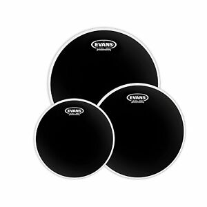 Evans Onyx 2-Ply 10, 12, 14 inch Fusion Tom Pack - Coated - ETP-ONX2-F